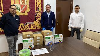 Material adquirido por parte del Ayuntamiento de Berja.