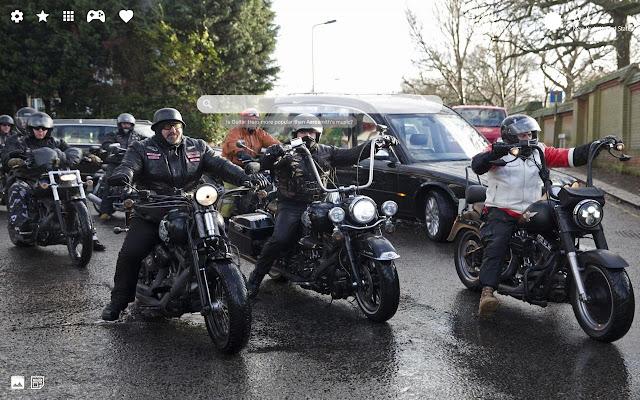 Motorcycle Club Hd Wallpaper Chrome Theme Chrome Web Store