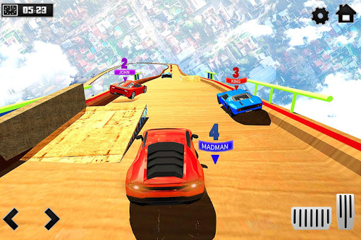 Sky Ramp Car Mega Stunts Big Jump 1.0 screenshots 2
