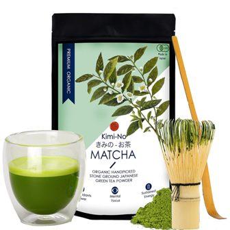 Kimino Japanese Organic Matcha Green Tea Powder