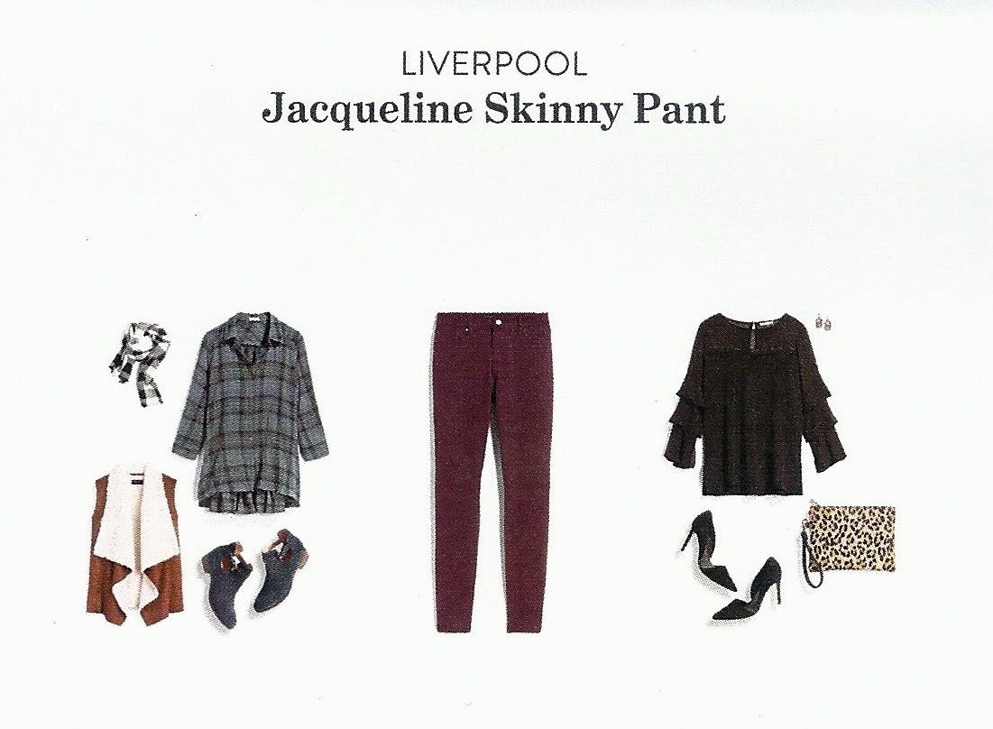 Stitch Fix Review Fall 2017, Liverpool Jacqueline Skinny Pant