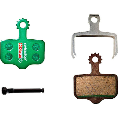 SwissStop Disc 26 Organic Compound Disc Brake Pad Set for SRAM Level T/TL, DB Series and Elixir