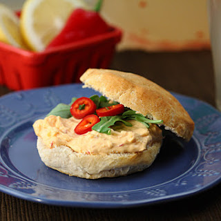 Melissa's Pimento Cheese Biscuit Sandwiches.