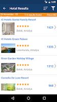 Screenshot of Aerobilet - Flights, hotels