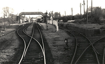 Photo: Coming off the single track at Moreton (June 1972)