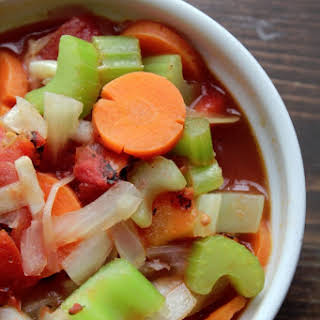 Weight Watchers Simple Vegetable Soup.