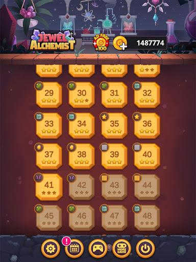 لعبة Jewel Alchemist: مطابقة 3 لقطات من الألغاز 9