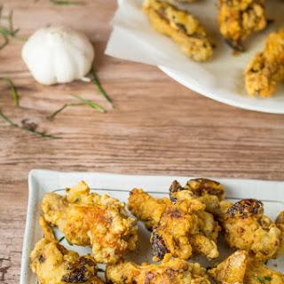 Crispy Garlic Fried Chicken Wings.