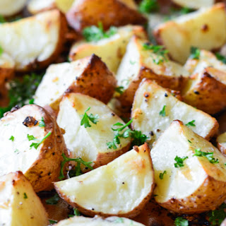 Garlic Roasted Red Potatoes.