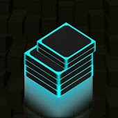 Neon Stack Blocks