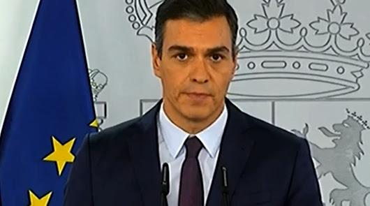"""Sánchez: """"La situación es grave y la única solución es reducir la movilidad"""""""