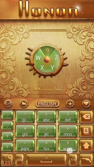 Honor Keyboard Theme & Emoji apk screenshot