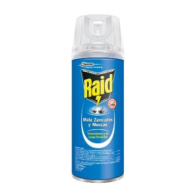 insecticida raid elimina voladores aer 235ml