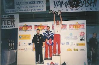 Photo: Pierwszy Puchar Świata w kickboxingu w historii woj. lubuskiego - maj 1999r. Piacenza