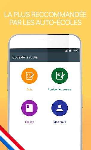 Code de la route 2018 gratuit Android App Screenshot