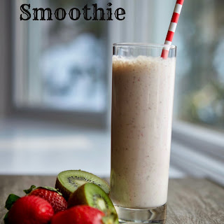 Strawberry Banana Kiwi Smoothie Recipes.