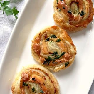 Turkey Cheese Pinwheels Recipes.