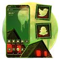 Melting Moon Neon Launcher Theme icon