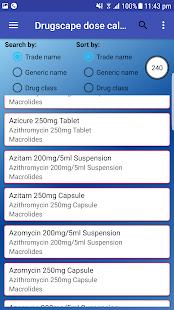 Drugscape dose calculator pro - náhled