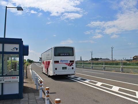 西鉄高速バス「桜島号」 9135 鹿児島空港南到着 その2