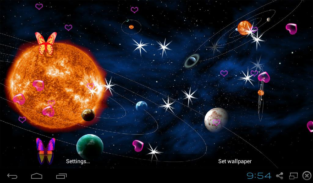 Planet Live Wallpapers - Android Apps on Google Play