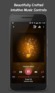 Pi Music Player - náhled