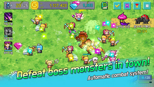 Screenshot for Hero Evolution : VIP in United States Play Store