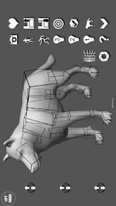 Wolf Pose Tool 3D screenshot 8