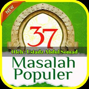 Abdul Somad 37 Masalah Populer - náhled