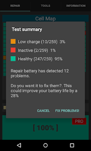 Repair Battery Life PRO Screenshot