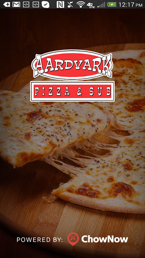 Aardvark Pizza and Sub- screenshot