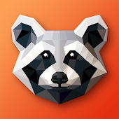 LOW POLY ART - Puzzle mit Farben & Polygon-Kunst icon