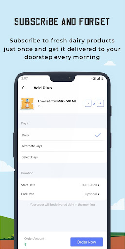 Country Delight - Online Milk Delivery App screenshots 4