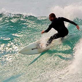 Surfer by Jane Fourie - Sports & Fitness Surfing ( water, surfing, surfer, sport, sea,  )