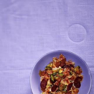 Chorizo and Thyme Farfalle