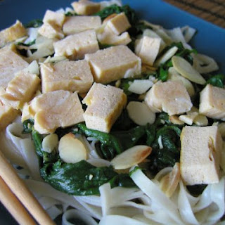 Spinach & Egg Roll Noodles