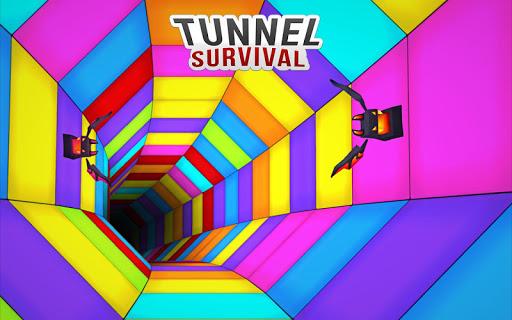 TWISTY ROAD SURVIVAL: AMAZING COLOUR WEB TUNNEL  screenshots 1