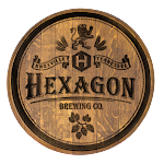 Logo for Hexagon Brewing Co.