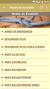 Manual de Nudos - náhled
