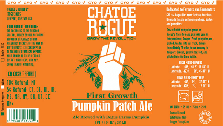 Logo of Rogue Pumpkin Patch Ale