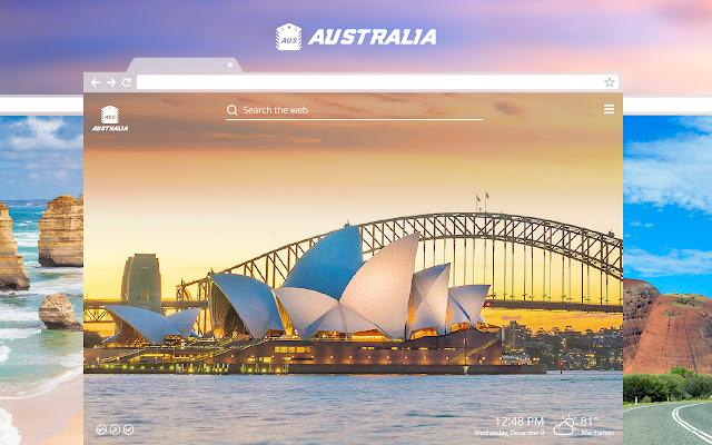Australia HD Wallpapers New Tab Theme
