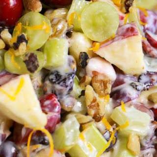 Apple Cranberry Waldorf Salad Recipes