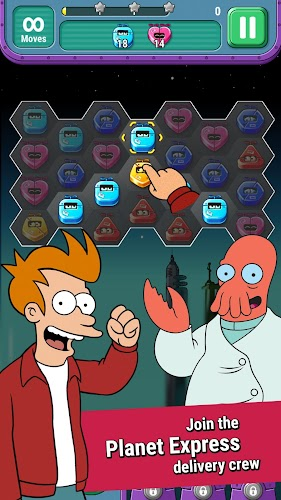 Futurama: Game of Drones - screenshot