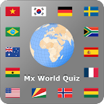 World country and flag quiz Mx 2.7