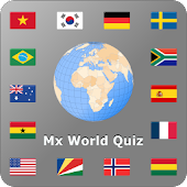 World country and flag quiz Mx