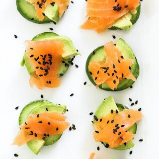 Low Carb Cucumber Bites Recipe