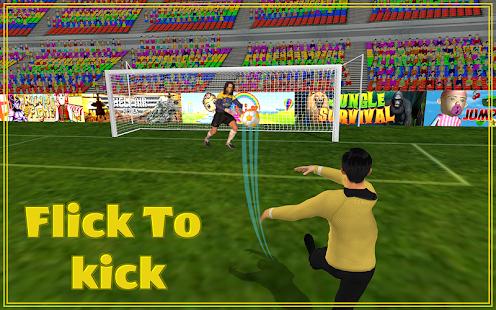 Finger Soccer Ball Kicks 3D - náhled