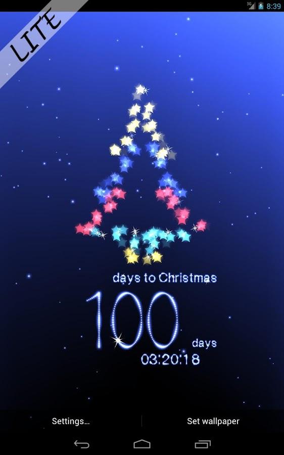 Christmas Countdown - screenshot