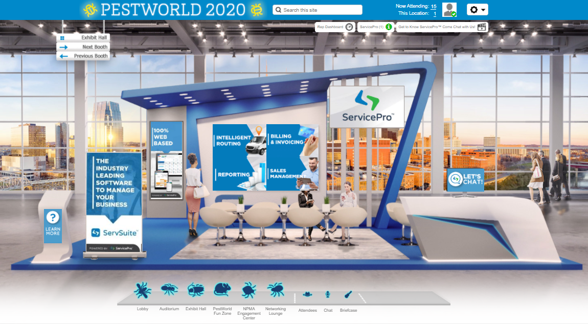 servicepro pestworld 2020 booth