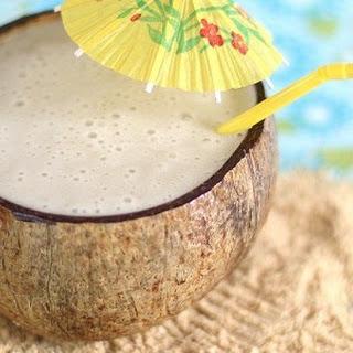 Banana Pina Colada.